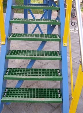 kraty pomostowe tws jako schody